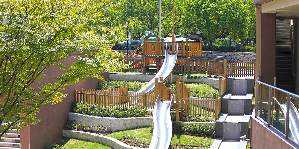 A natural environment filled with fun play areas