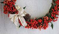 [School] Christmas wreaths